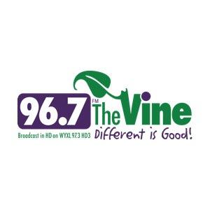 Logo for The Vine 96.7