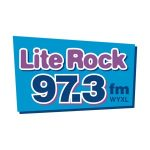 Logo for LiteRock 97.3