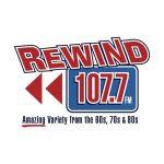 Logo Rewind 107.7FM